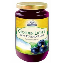 Golden Light Blackcurrent Jam
