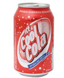 Ice Cool Carbonated Soft Drinks (Cola)