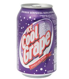 Ice Cool Carbonated Soft Drinks (Grape)