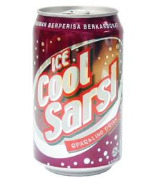Ice Cool Carbonated Soft Drinks (Sarsi)