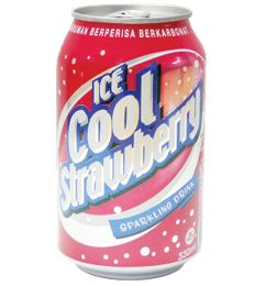 Ice Cool Carbonated Soft Drinks (Strawberry)