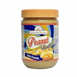 Golden Light Peanut Butter – Extra Crunchy