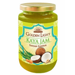 Golden Light Pandan Kaya Jam