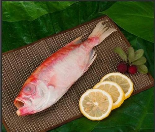 Frozen Purpie-spotted Bigeye Fish