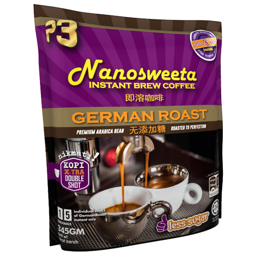 P3 Nanosweeta Coffee German Roast