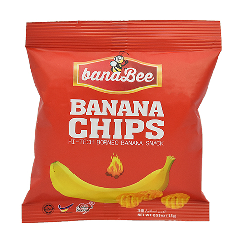 Banana Chips BBQ (15g)