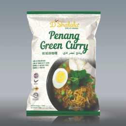 D'SHALALA PENANG GREEN CURRY INSTANT NOODLE