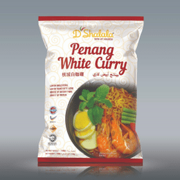 d'sHALALA PENANG WHITE CURRY INSTANT NOODLE