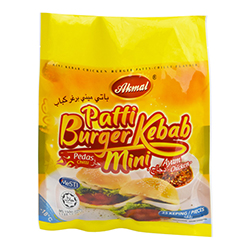 Mini Kebab Chicken Burger Patty (Chilli Flavour)