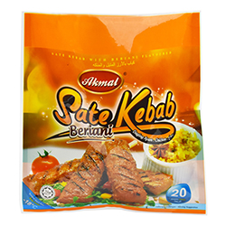 Satay Kebab with Beriani Flavoured