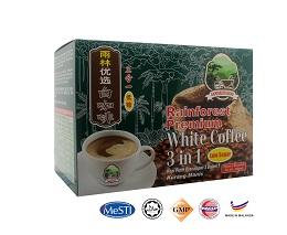 Rainforest Regime Premium 3 in 1 Low Sugar White Coffee