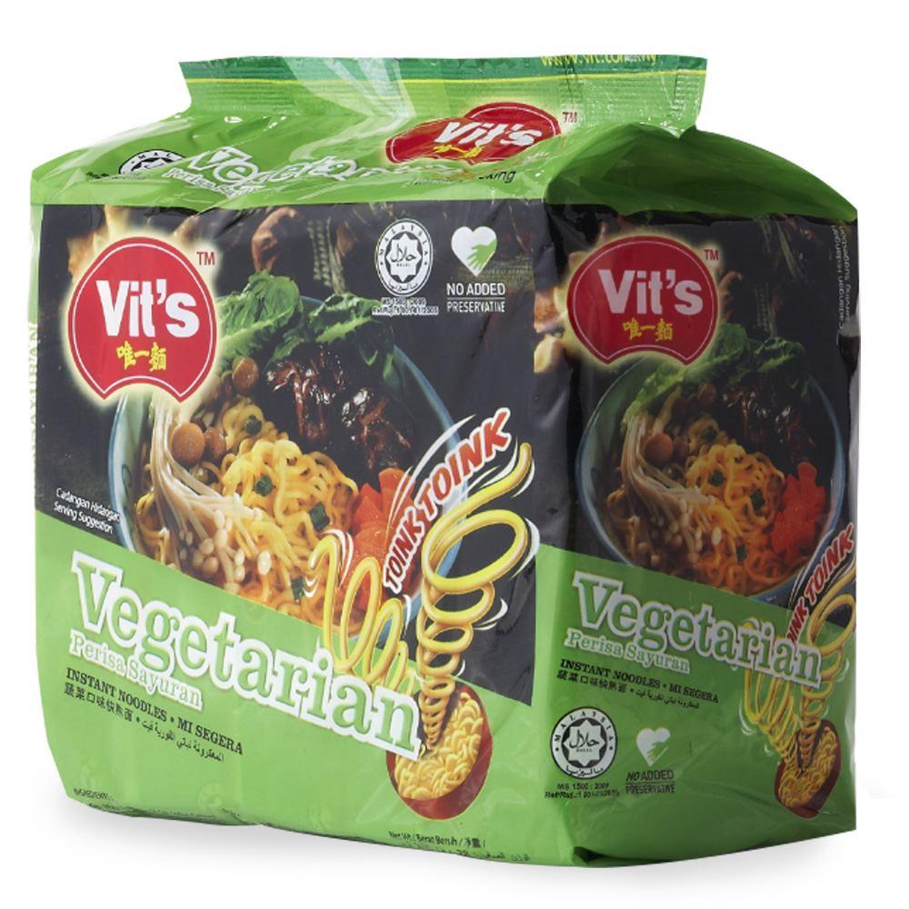 Vit's Instant Noodle Vegetarian Flavour