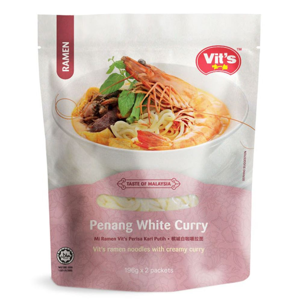 Vit's Penang White Curry Ramen