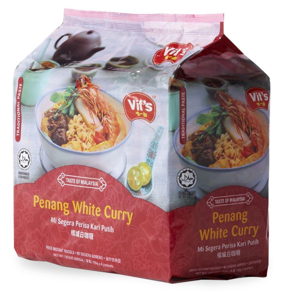 Vit's Premium Instant Noodles Penang White Curry Mee