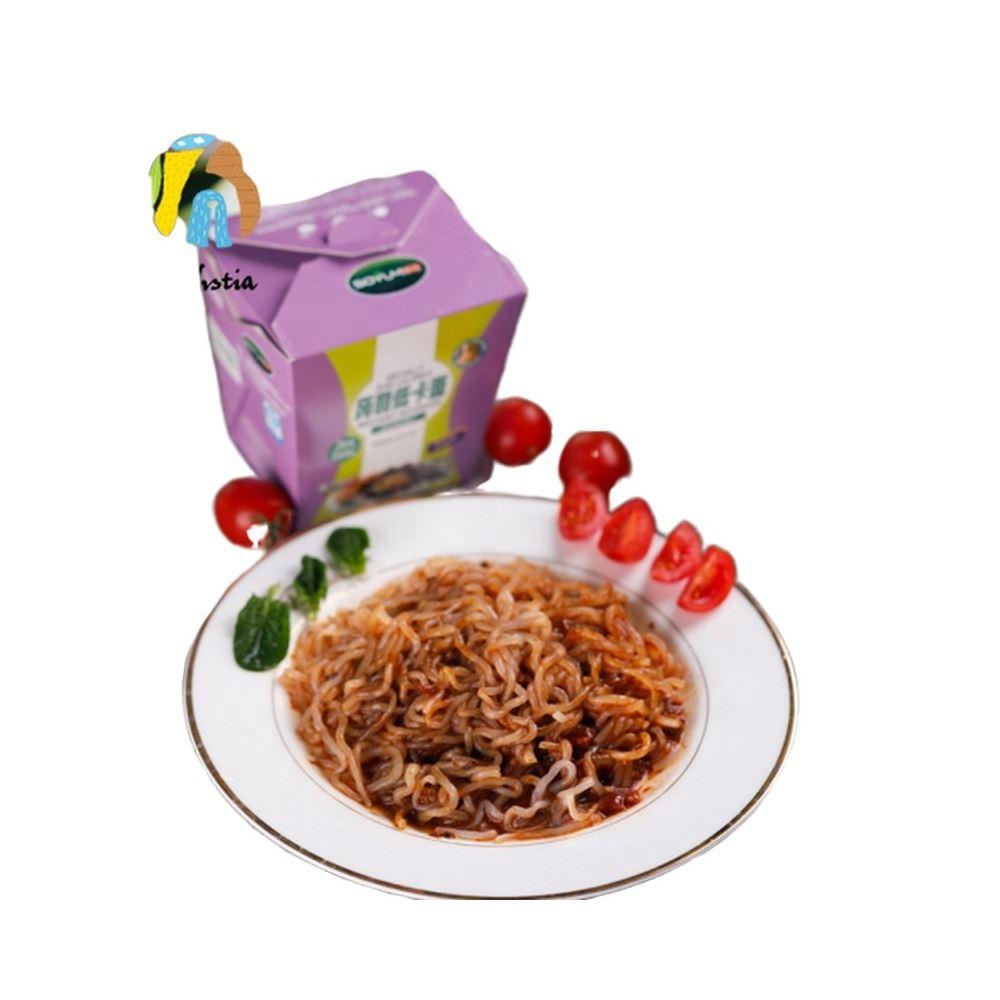 Low carb bowl noodles seafood flavour instant konjac bowl noodles