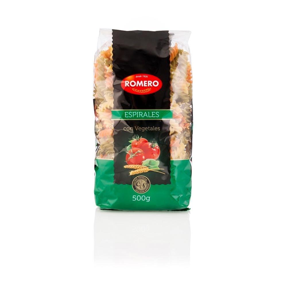 Romero Tri Color Pasta with Pure Spinach and Tomato
