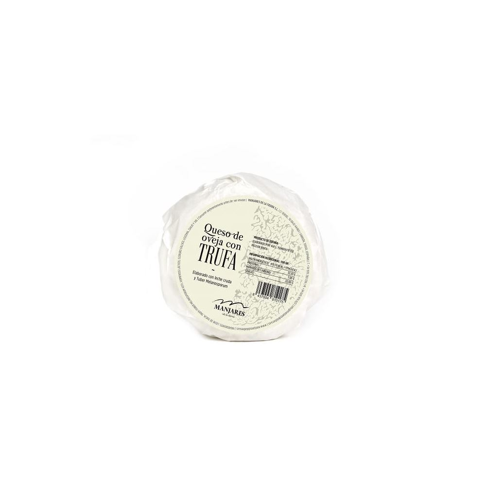 Sheep Cheese With Black Truffle Tuber Melanosporum 450g / 800g from Spain - Manjares de la Tierra