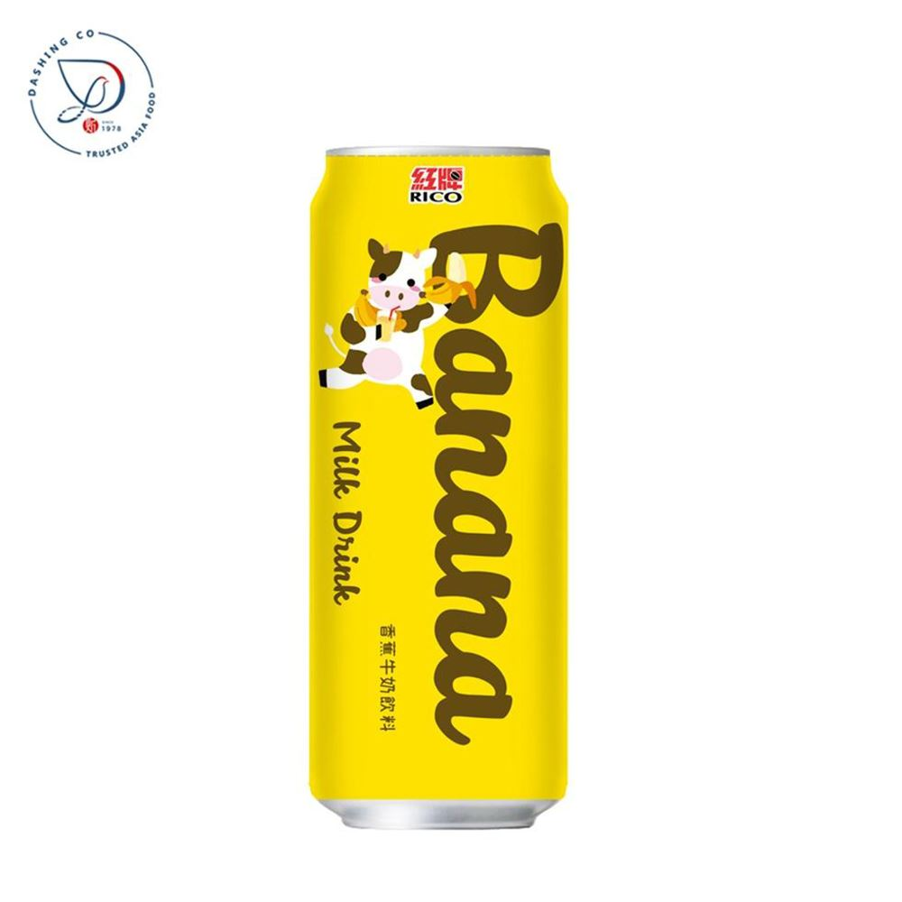 Canned Banana Milk Drink