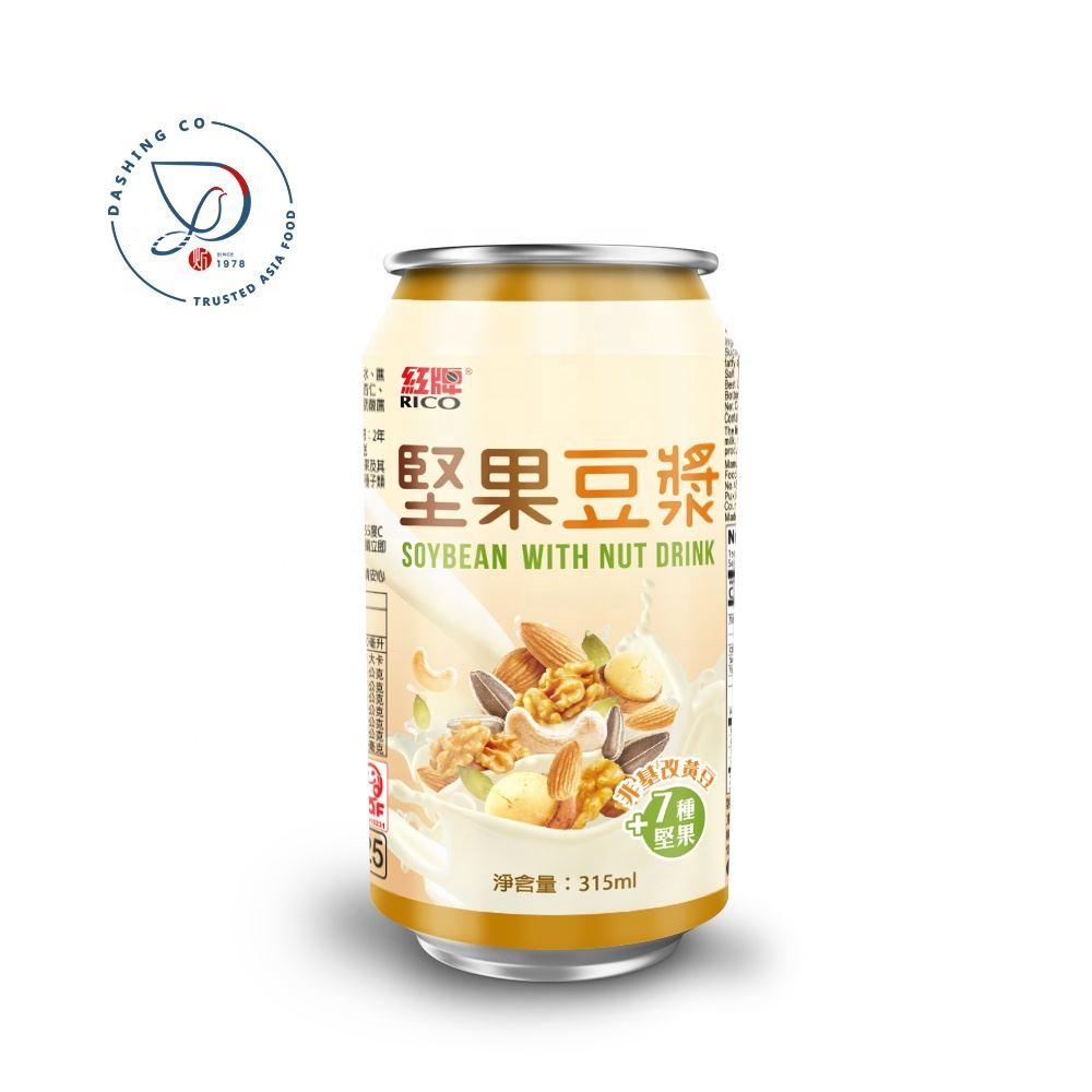 Rico Can (Tinned) Non-GMO Soybean Milk