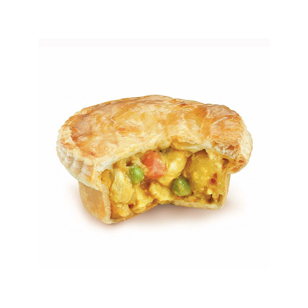 Baker's Oven 150g Spicy Asian Curry Chicken Pie