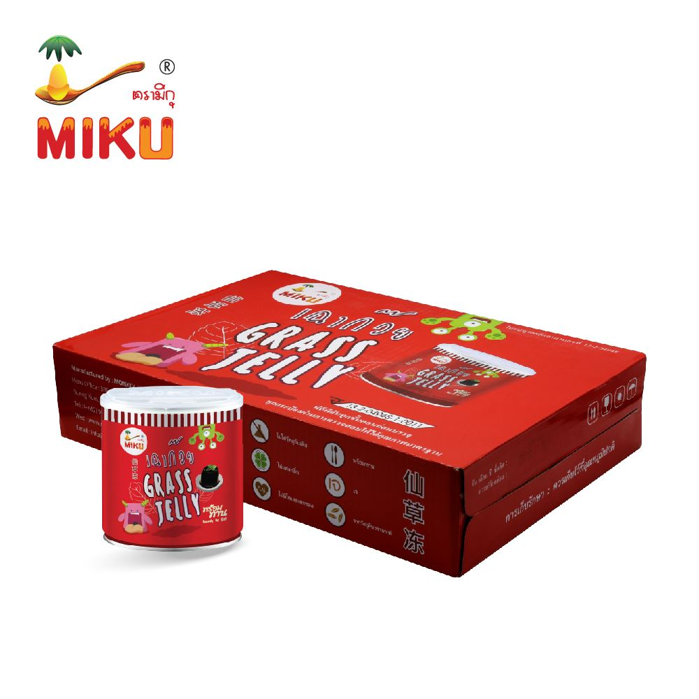 Wholesale high quality Thailand snacks grass jelly