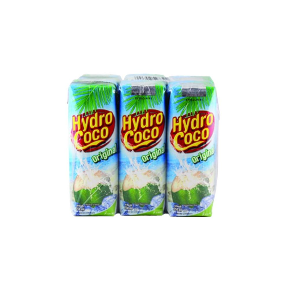 HYDRO COCO NATURAL HEALTH DRINK 6x250mL