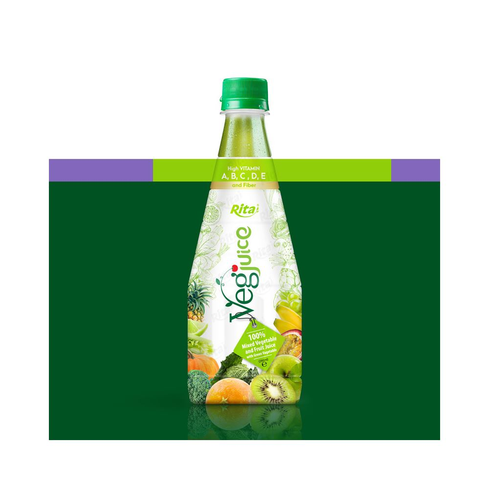 290ml Pet Bottle Health Vegetable Fruit Drink