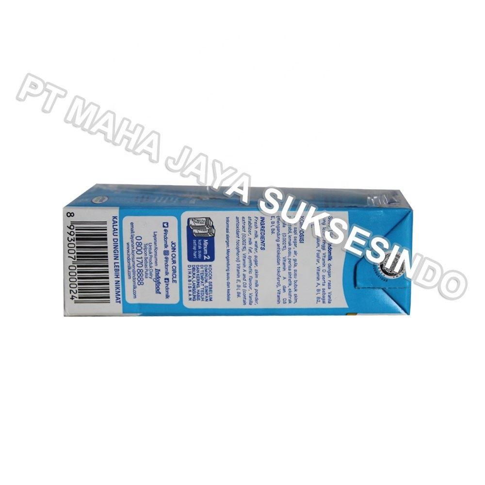 Indomilk ~ Indomilk Milk Vanilla ~ uht milk wholesale