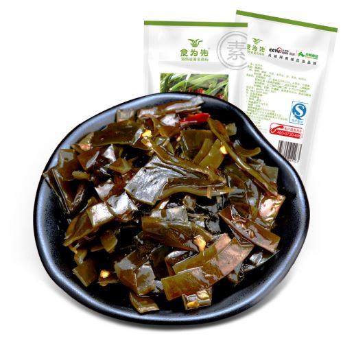 Yonghe Chinese Low Fat Healthy Spicy Shredded Kelp Wholesale Vegetarian Food