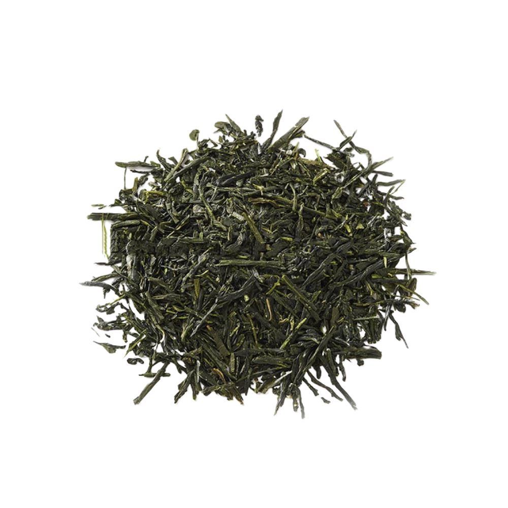 Japanese green tea leaf