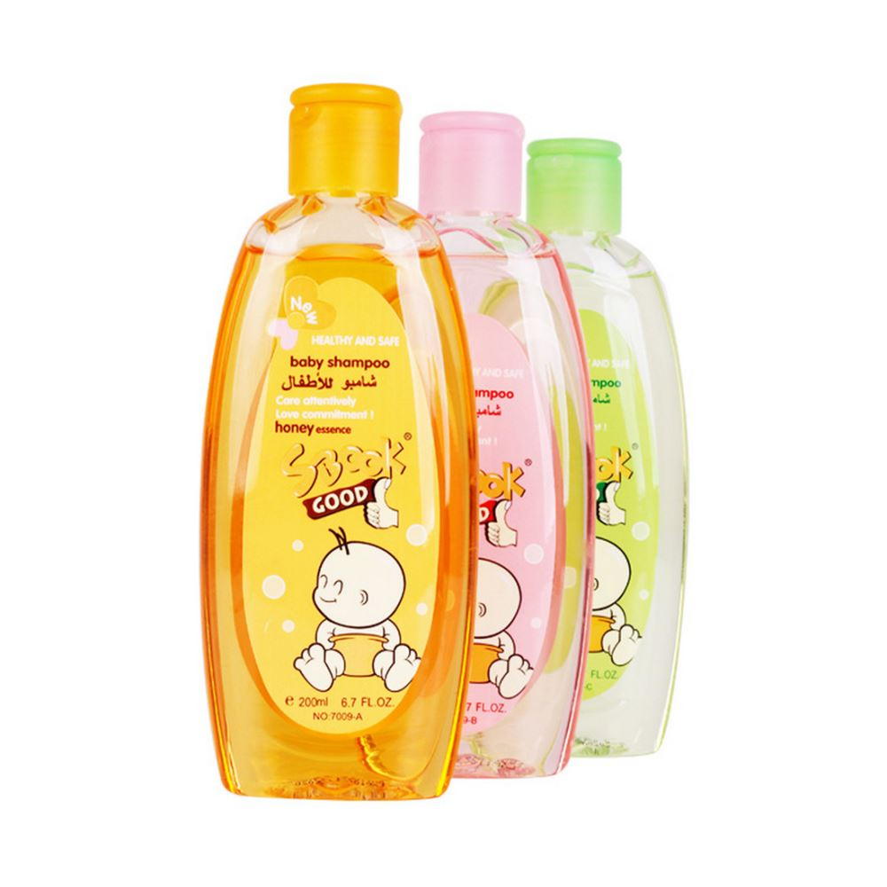 200ml SBOOK soft & moisture halal approved natural mild kids shampoo for baby hair care