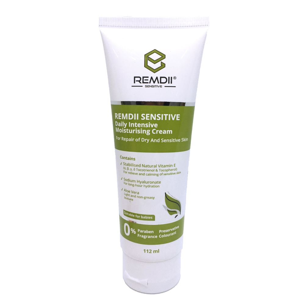 Remdii Sensitive Daily Intensive Moisturising Cream ( 112ml )