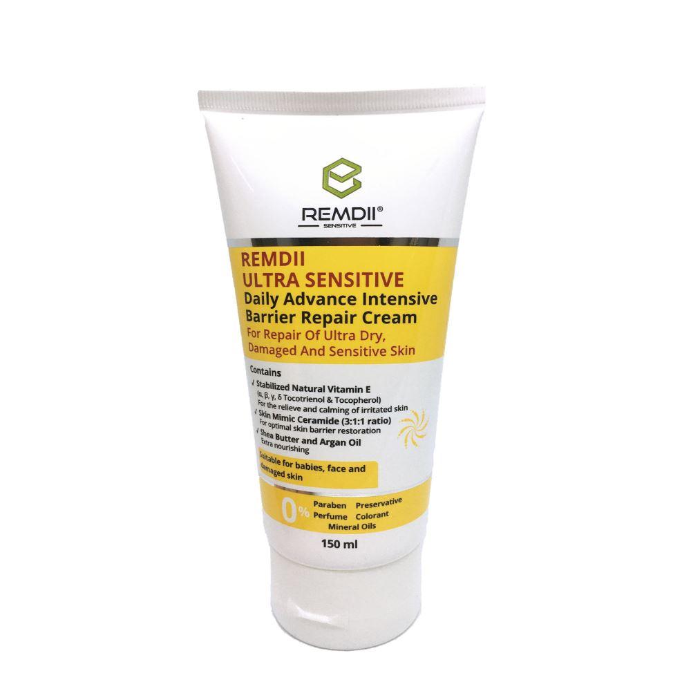 Remdii Ultra Sensitive Daily Advance Intensive Barrier Repair Cream ( 150ml )