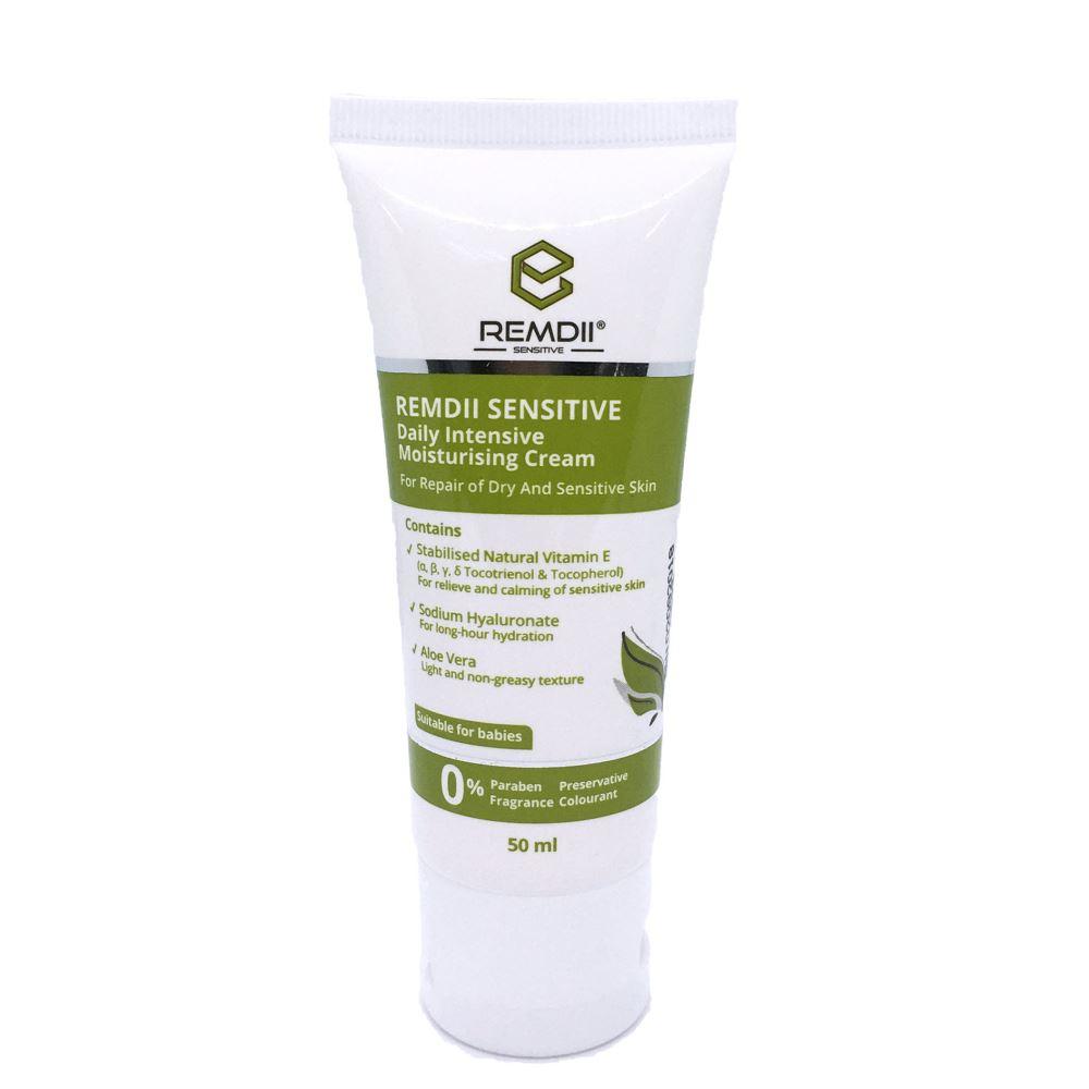 Remdii Sensitive Daily Intensive Moisturising Cream ( 50ml )