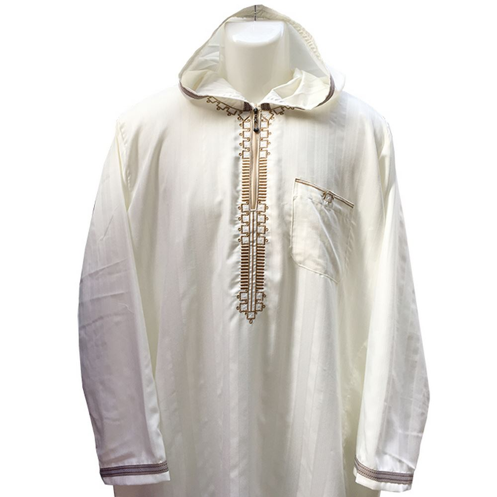 Hooded Robe for Muslim Men