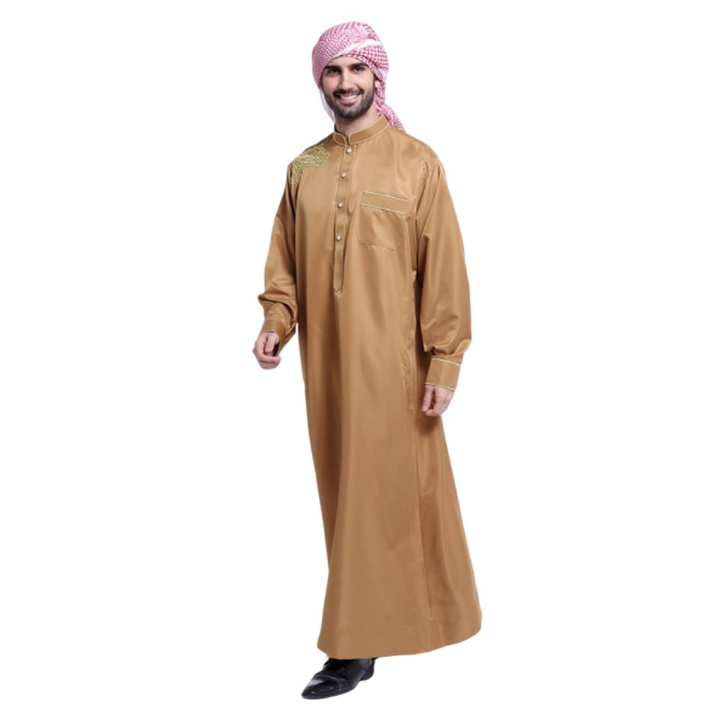 Mens Arabic Robe/Thobe/jubah Cotton Middle East Men thobe Islam clothing