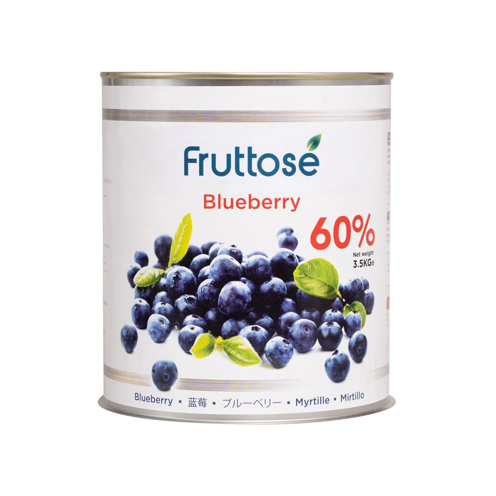 Blueberry Filling (Fruttose)