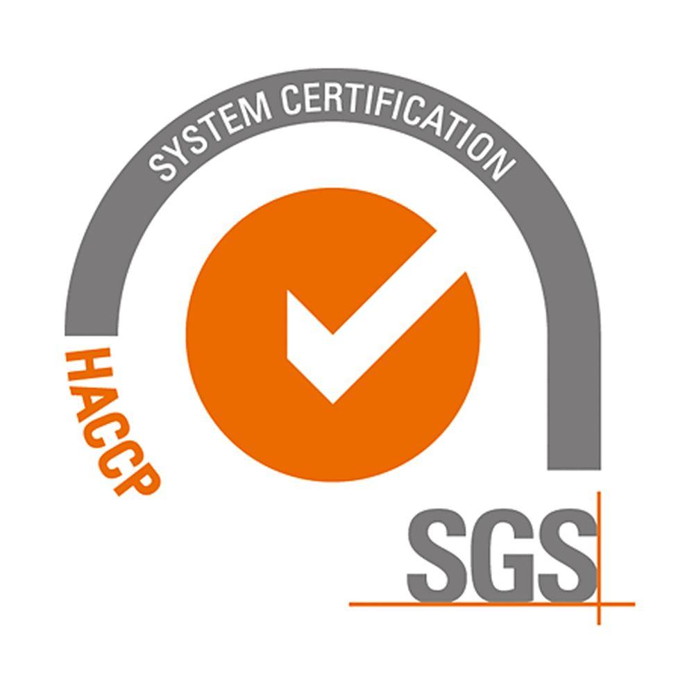 SGS HACCP Certification