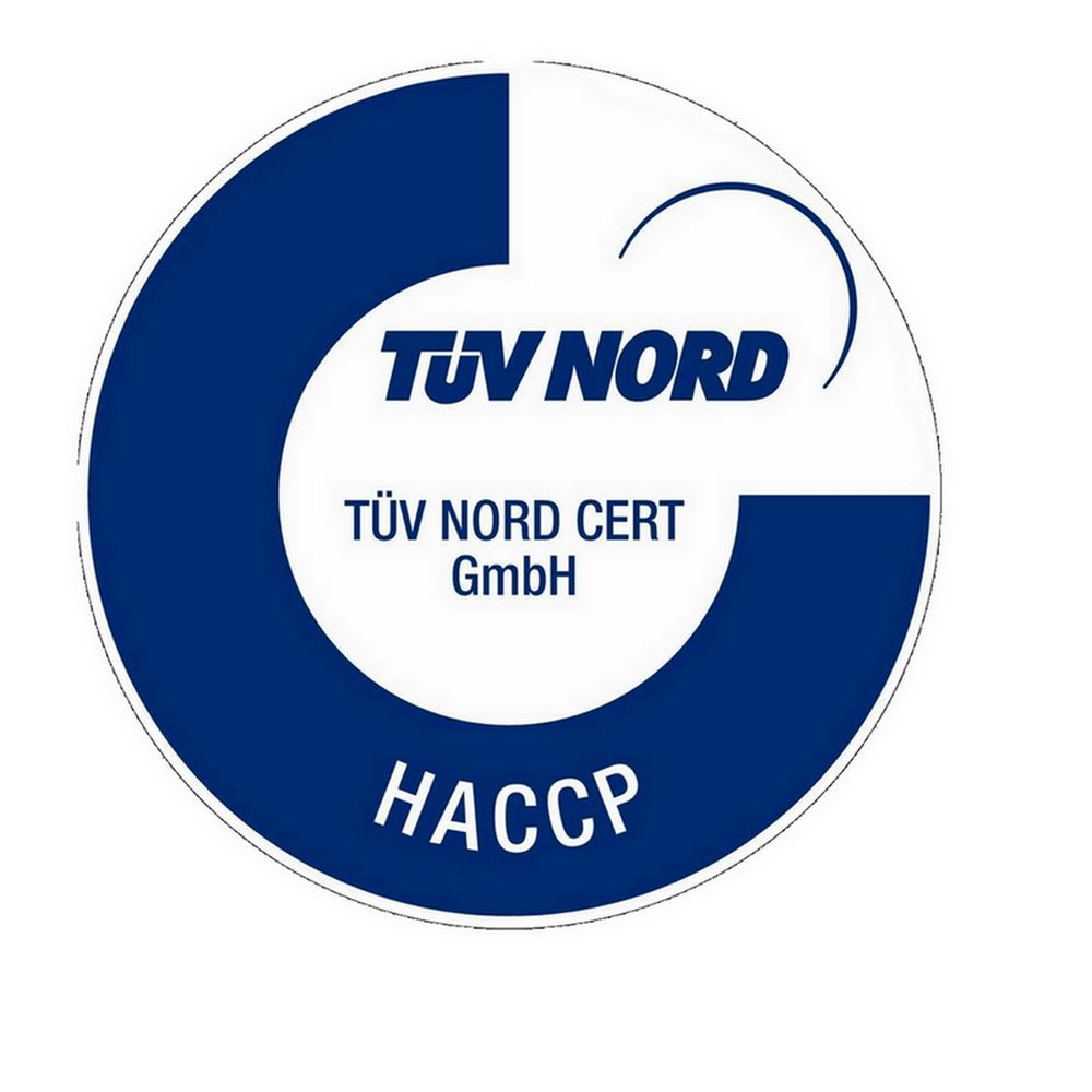 Tuv Nord HACCP Certification