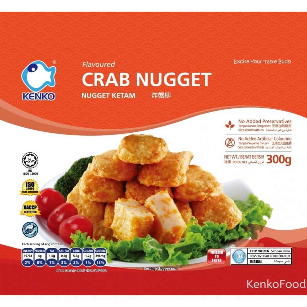 Crab Nugget 300g