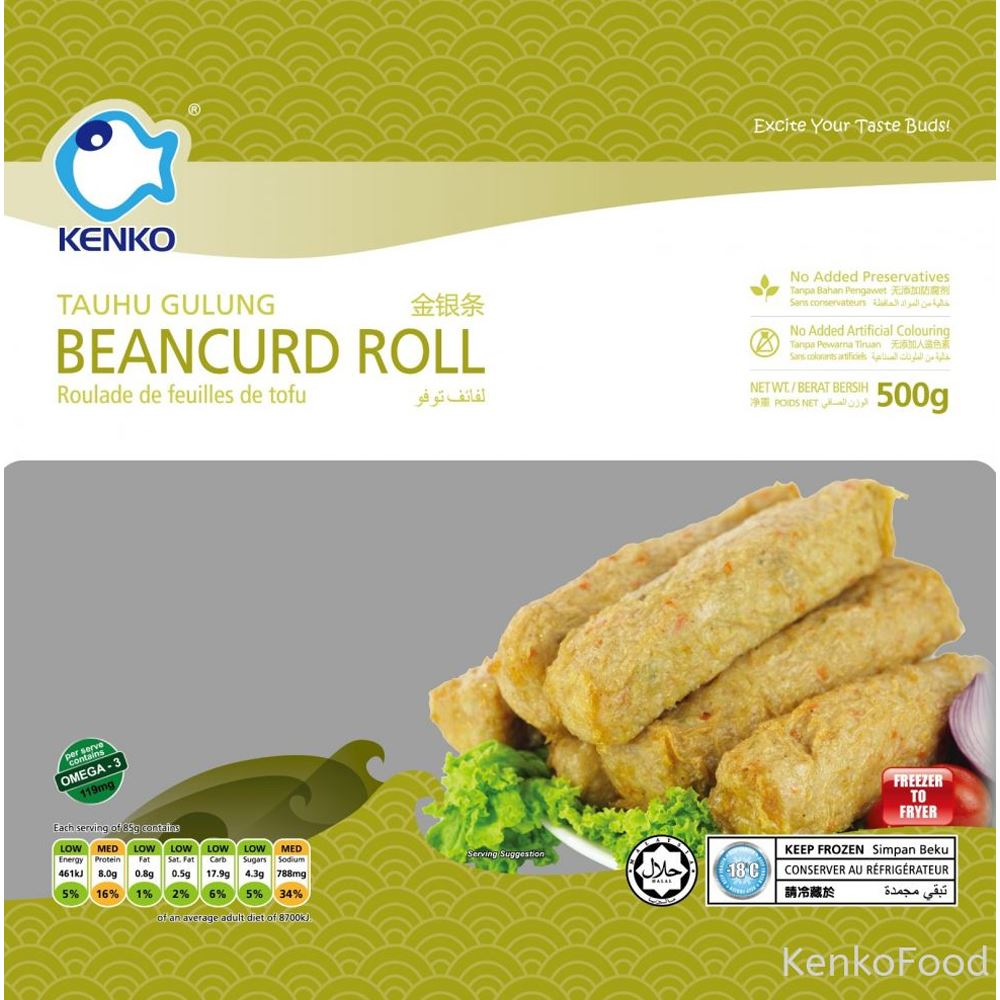 Beancurd Roll 500g
