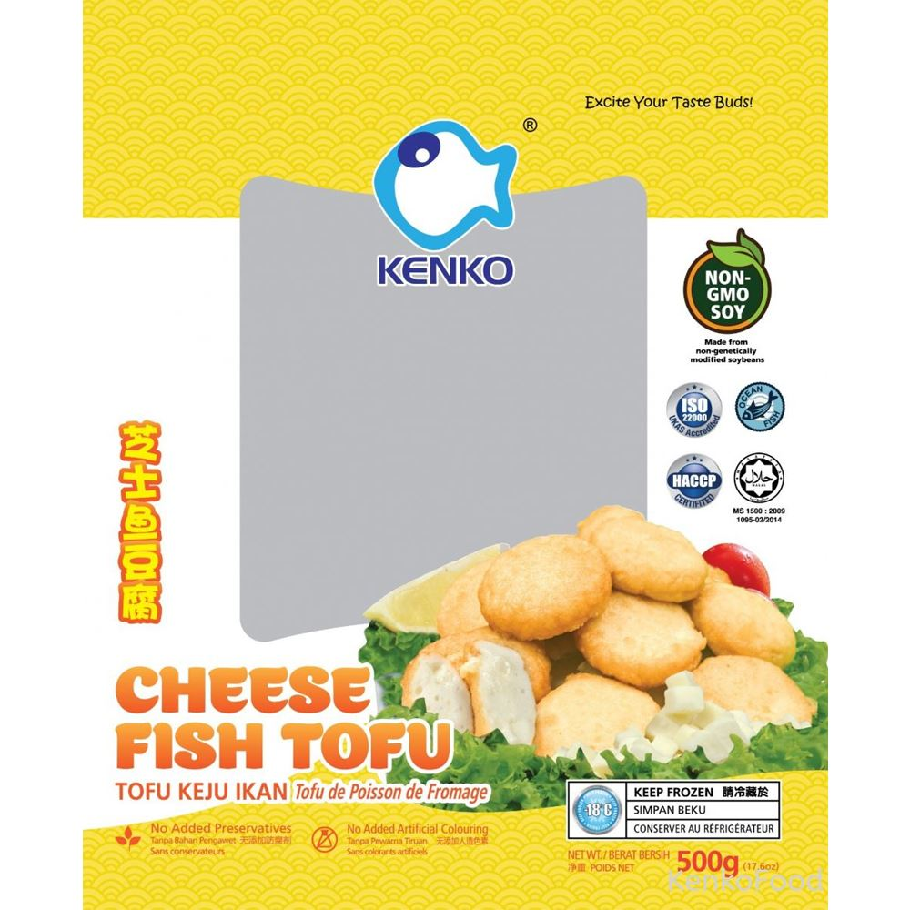 Cheese Seafood Tofu 500g