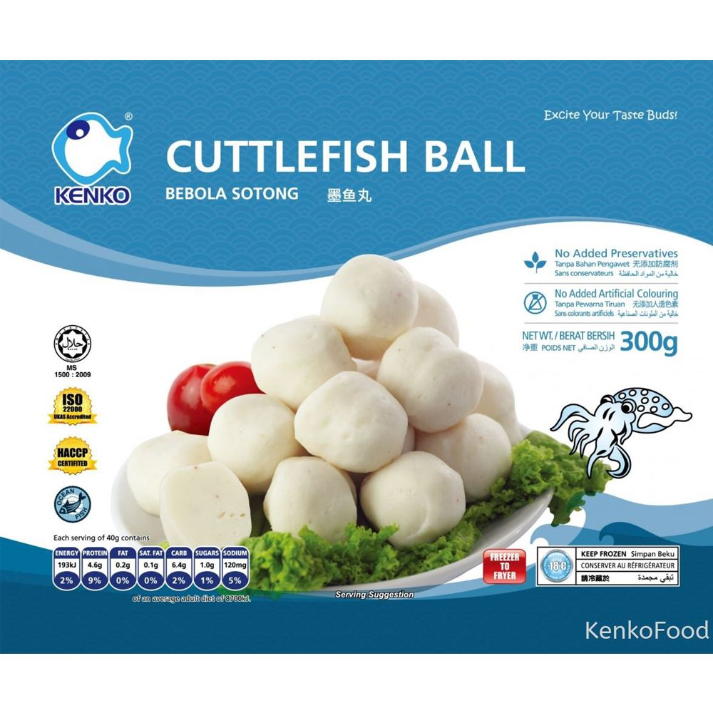 Cuttlefish Ball 300G