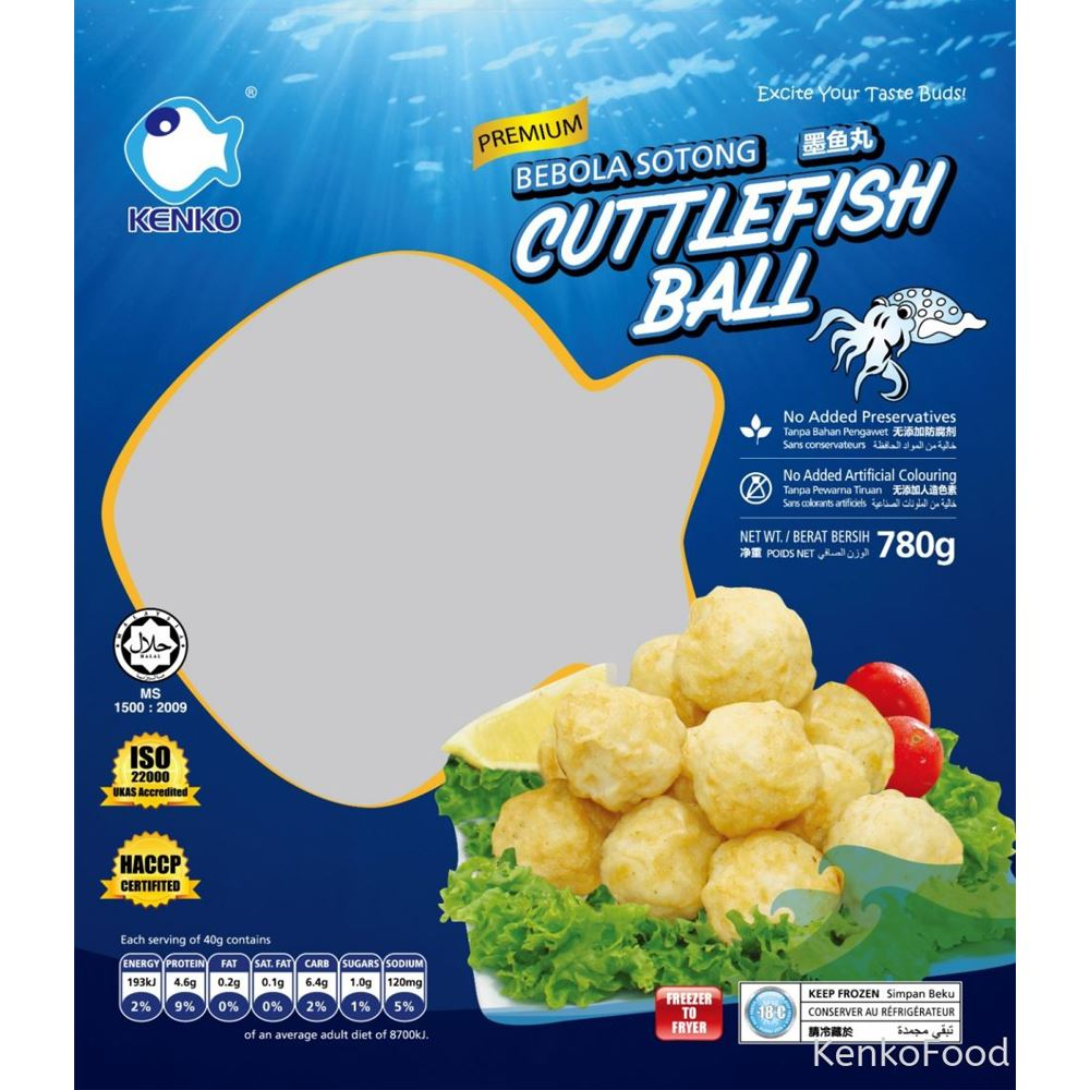 Cuttlefish Ball 780G