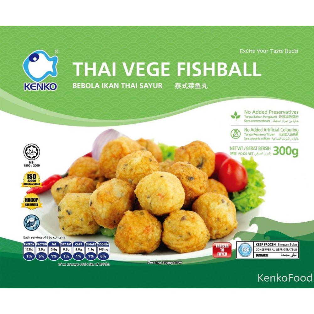 Thai Vegie Fishball 300g