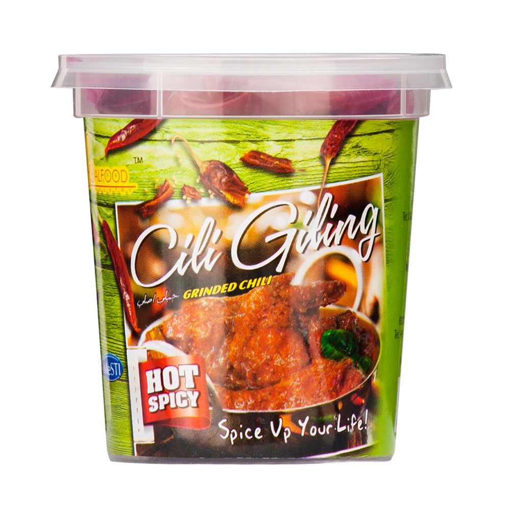 Cili Giling (Chili Paste - Hot Spicy)