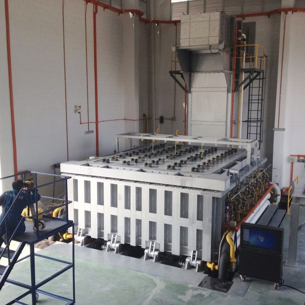 Fire Resistance Test Furnace