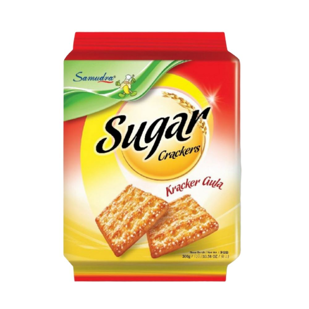 Sugar Crackers (300G x 12Pkts)