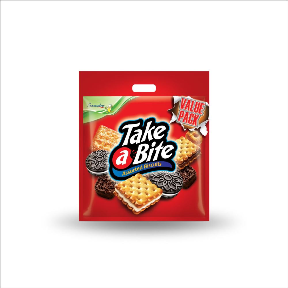 Take A Bite Assorted Biscuits (Value Pack) (500G x 12Bags)
