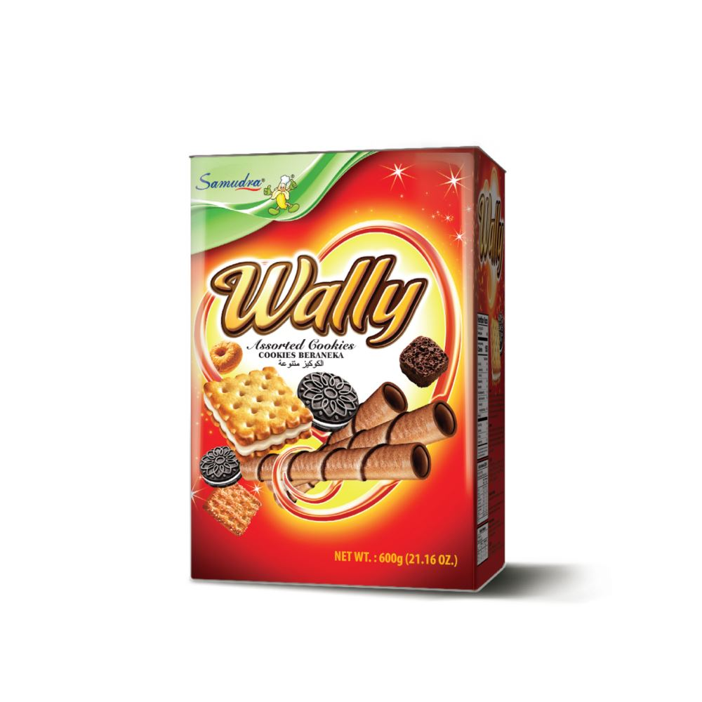 Wally Assorted Cookies (600G x 6Tins)
